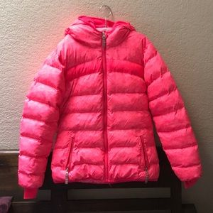 Champion Youth Pink Hooded Jacket